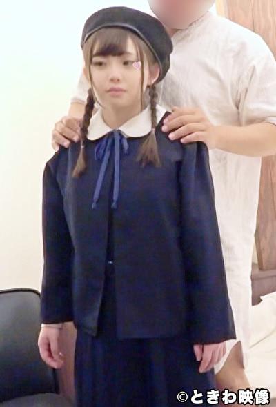 【アダルト動画】お茶の水/おさげが可愛らしいミニマム系発育途上の女の子に特別な面接で制服を着たままで中出し,のトップ画像